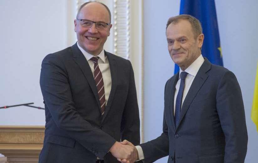 Голова Верховної Ради Андрій Парубій: «Ми закликаємо наших побратимів з Європейського Союзу продовжувати відстоювати кордони свободи і кордони незалежності»