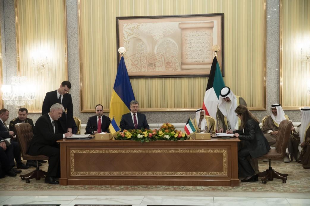 Україна та Кувейт домовилися про співробітництво у військовій та інших сферах