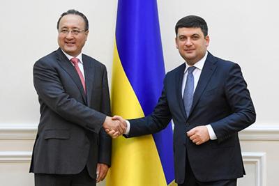 Україна і Китай активізують співпрацю в агросекторі, енергетиці й інфраструктурі - зустріч Глави Уряду з керівництвом китайської корпорації CCEC