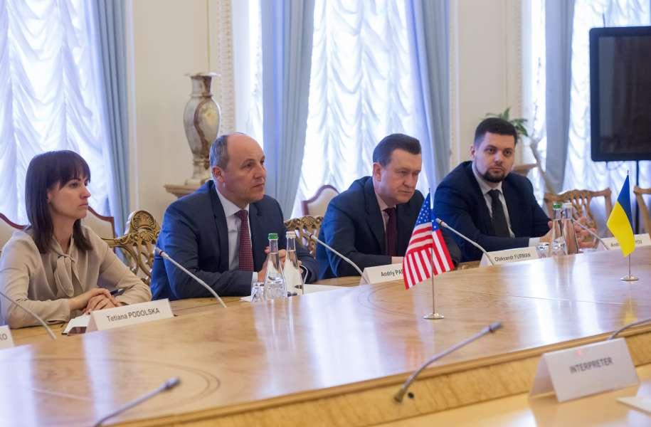 А.Парубій подякував Джону Хербсту і Атлантичній раді за підтримку регіональної співпраці, яку проводить Україна