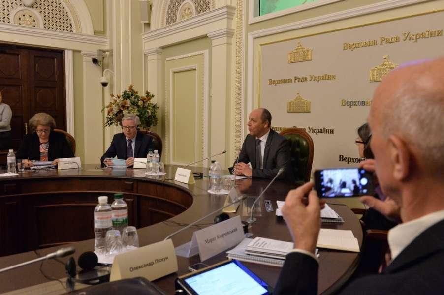 Андрій Парубій: Європейська інтеграція – це наш світоглядний напрямок розвитку