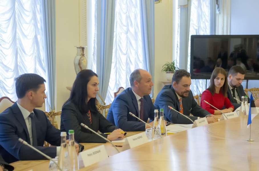 Україна і Естонія зацікавлені у поглибленні українсько-естонського міжпарламентського діалогу
