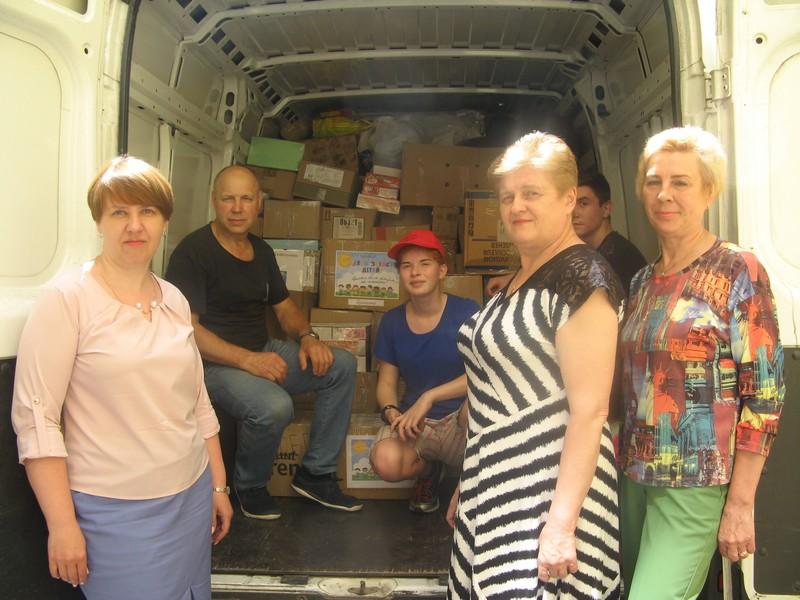 Школярі НВК: школи-ліцею м. Гайсин також  зібрали книги та іграшки для дітей-сиріт з Донеччини