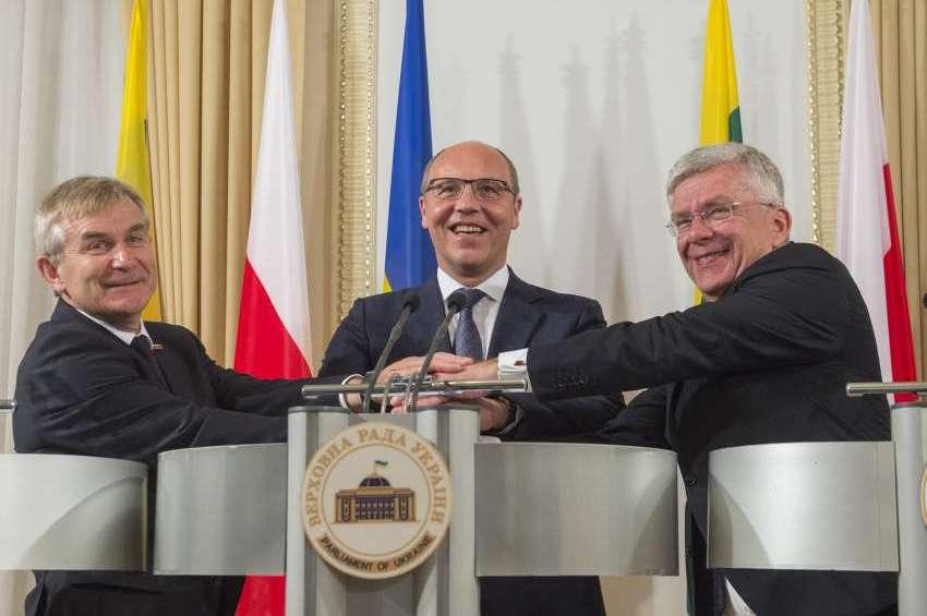 «Спільно з Польщею і Литвою ми наближаємо той день, коли Україна реально стане членом європейського співтовариства», - Голова Верховної Ради Андрій Парубій