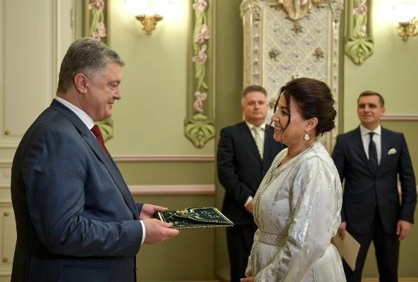 Президент України прийняв вірчі грамоти Послів Люксембургу, Киргизстану та Марокко