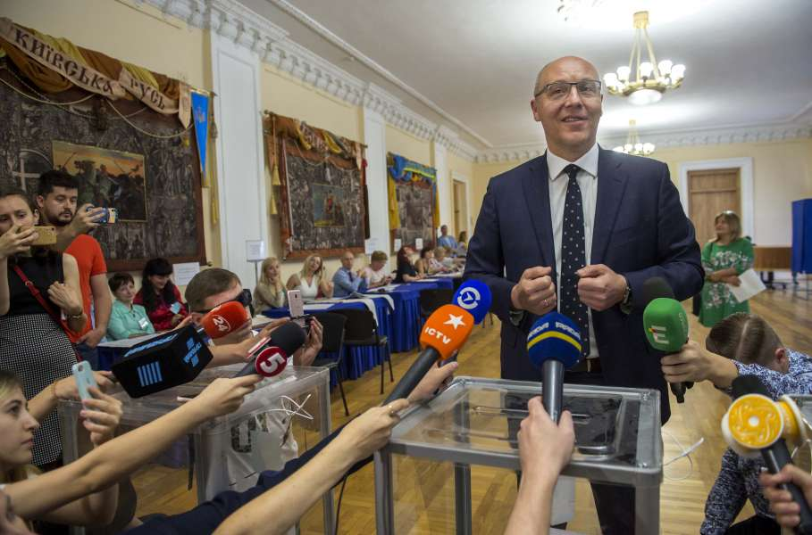 Голова Верховної Ради України Андрій Парубій: «Дуже важливо, щоб Україна і надалі йшла в напрямку до НАТО і ЄС»