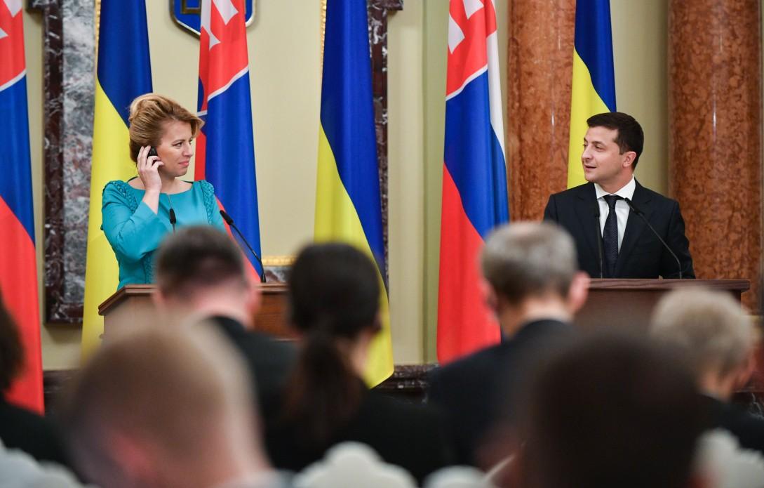 Україна зацікавлена у співпраці зі Словаччиною у сферах контролю на кордоні та трудової міграції – Володимир Зеленський