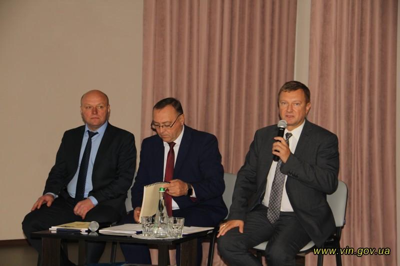 Виїзне засідання колегії Департаменту освіти і науки Вінницької ОДА