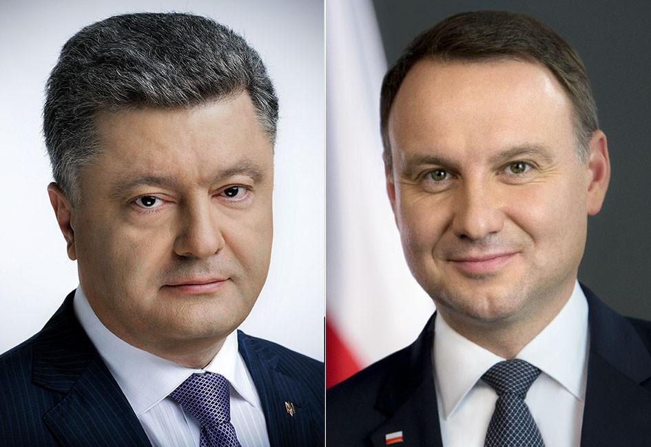 Президент України провів телефонну розмову з Президентом Республіки Польща