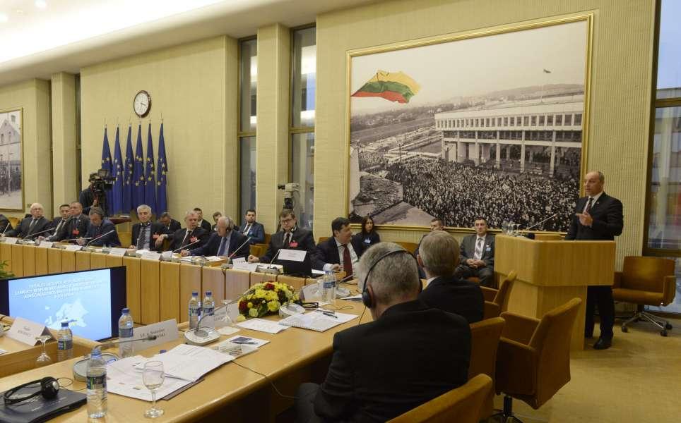 «Ініціативи Міжпарламентської Асамблеї Литви, Польщі та України мають набагато більший масштаб, аніж співпраця між трьома країнами», - Голова Верховної Ради Андрій Парубій