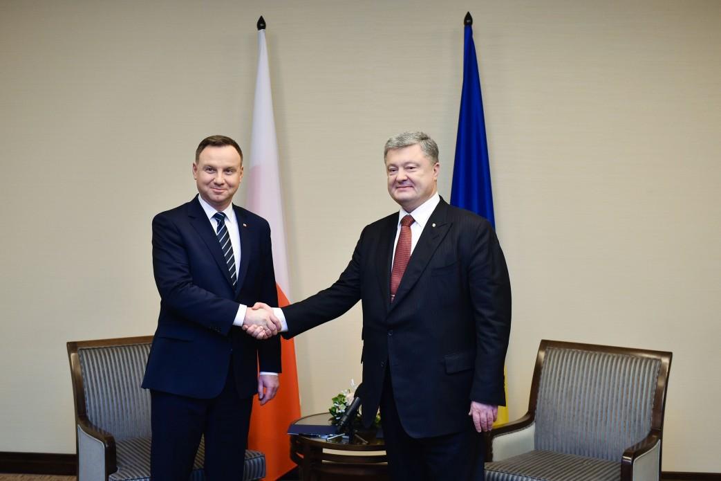 Польща підтримує запровадження миротворчої місії ООН на Донбасі – зустріч Президентів України та Польщі